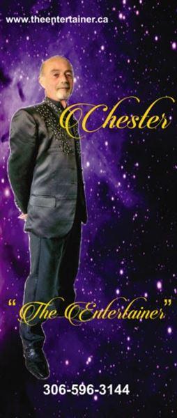 The Entertainer - Chester McBain - Estevan
