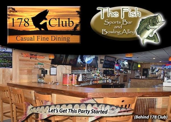 178 CLUB AND BULL SHOALS BOWLING CENTER