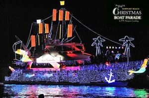 Newport Beach Christmas Boat Parade Cruises