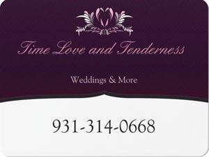 Time Love & Tenderness Weddings and More