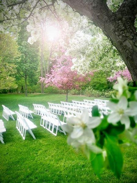 Dow Gardens Midland Mi Wedding Venue