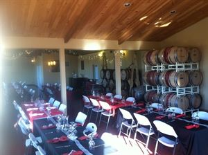 Enjoy our Winery for Weddings, receptions, parties, meetings, etc