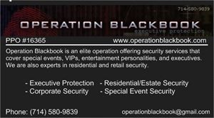 Operation Blackbook (security)