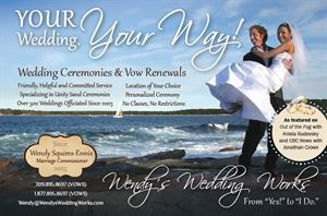 Wendy Squires-Ennis, Marriage Commissioner in NL