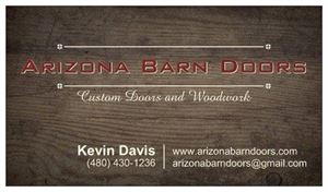Arizona Barn Doors