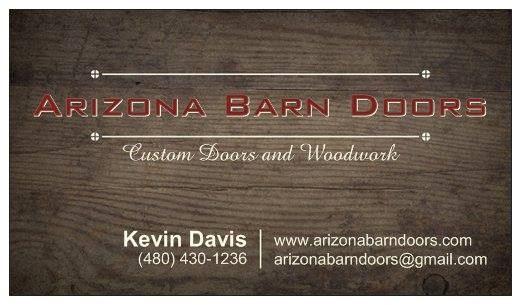 Arizona Barn Doors