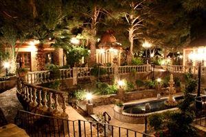 Provencal Courtyard