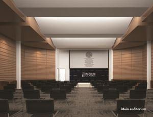 Second floor Auditorium & Lounge