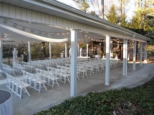 Covered Patio near Banquet Hall