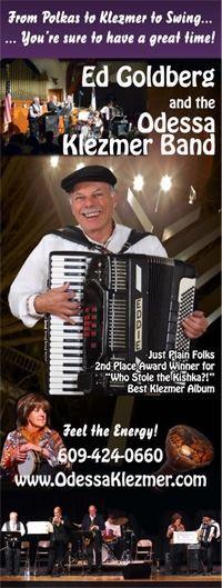 Ed Goldberg Band - including Klezmer/Polka