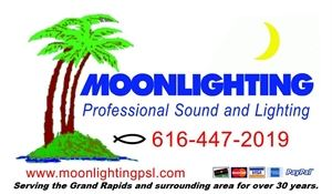 Moonlighting Professional Sound and Lighting