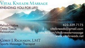 Vital Kneads Massage