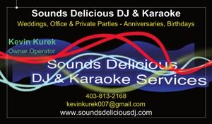 Sounds Delicious DJ & Karaoke Services