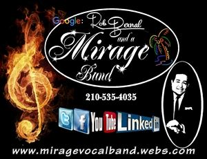 "Rob Bernal and a ""Mirage Band"""