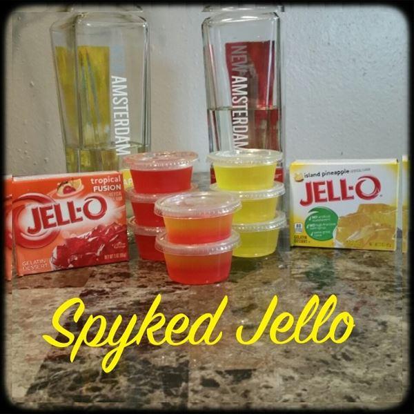 Spyked Jello