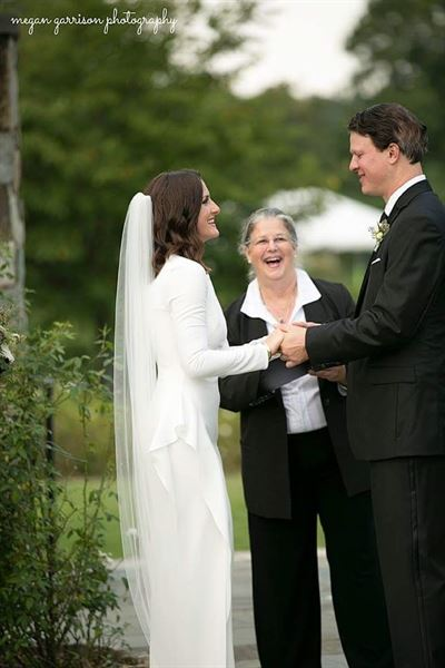 Wedding Officiant Mary Lee