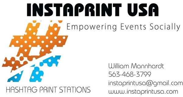 Instaprint USA  Hashtag Print Stations