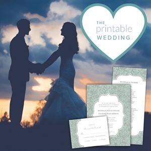 The Printable Wedding