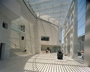 Telfair's Jepson Center for the Arts Building - Atrium