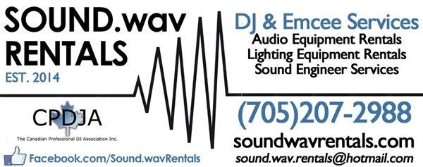 Sound.wav Rentals - Elliot Lake