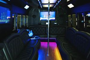 Sacramento Limo Bus