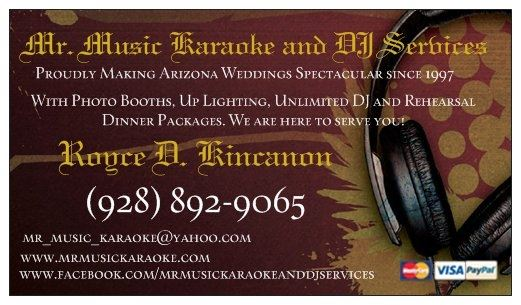 Mr. Music Karaoke and DJ Services and Remember When Photo Booths