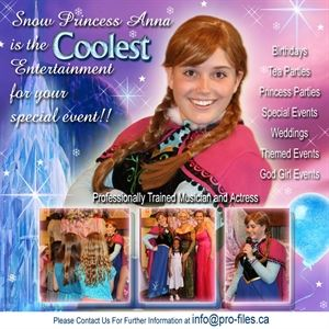 Snow Princess Anna