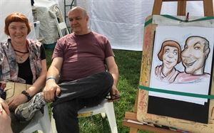 Eventful Caricature Art