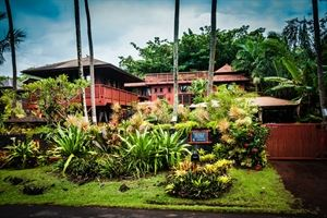 The Bali House and Cottage at Kehena beach Hawaii