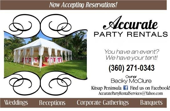 Party Equipment Rentals In Everett Wa For Weddings And