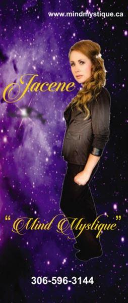 Jacene - Female Mentalist - Saskatoon - Weyburn - Brandon