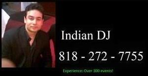 Indian DJ in San Diego - 818 - 272 - 7755
