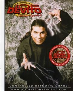 Joe DeVito The Comedy Stage Hypnotist