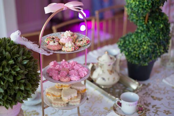 Tessa's Dollhouse and Tea Party