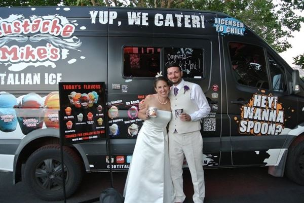Mustache Mike's Italian Ice Cream Catering