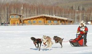 Mushers Hall at the Jeff Studdert Race Grounds