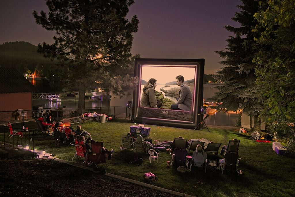 Outdoor Movie Screens For Rental Austin Tx Entertainer