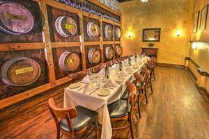Wine Barrel Room