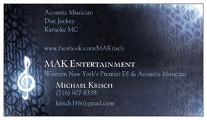 Michael Krisch - MAK Entertainment