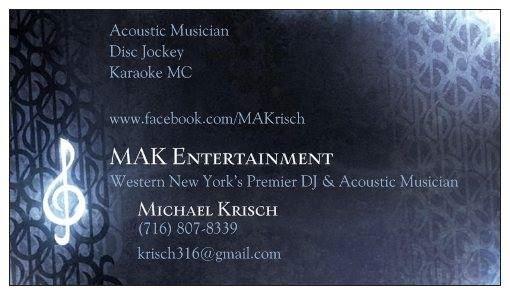 Michael Krisch - MAK Entertainment
