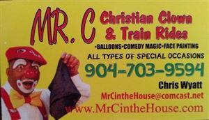 Mr C Clown Entertainment and Train Rides