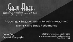 Gray Area Photography and Video