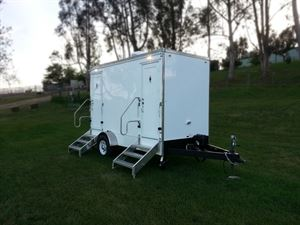 Fancy Flush, Portable Restroom Trailer Rental