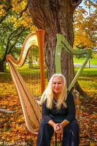 Jan Aldridge-Clark- Harpist