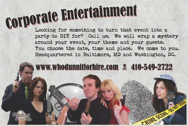 Whodunnit for Hire
