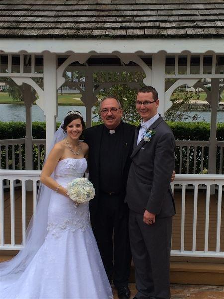 Rev. Bob Zasimovitch wedding officiant