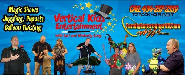 Earl Long Entertainment Vertical Kids Ministry Danville