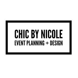 chic by NICOLE | Event Planning + Design