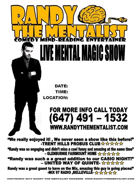 Randy The Mentalist