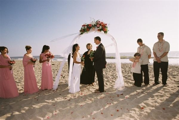 Beach Weddings at Ventura Harbor Village